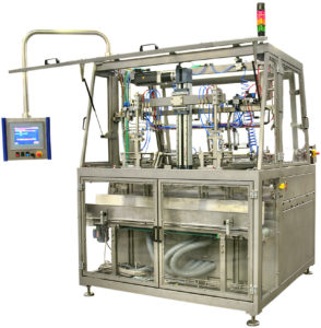 Example: Servo controlled carton erector, HFAI-S