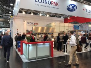 Messestand Interpack 2017 Düsseldorf