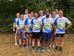 Laufteam - Firmenlauf Rheinhessen 2018